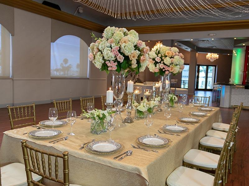 banquet centerpiece